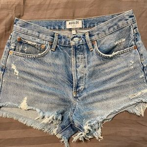 Agolde Parker Vintage Cut Off Shorts (like new)